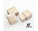 The new wide-brimmed champagne bracelet box ring box courtship gift box wedding gift necklace pendant bracelet